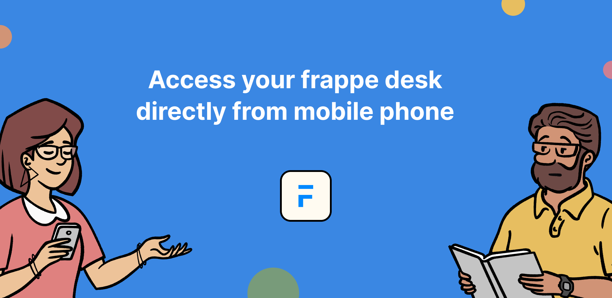 Introducing Frappe Mobile - Cover Image