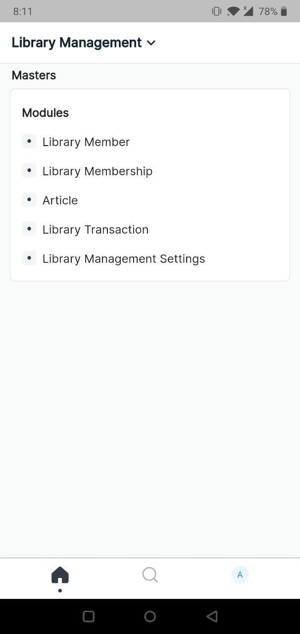 Library Mangement